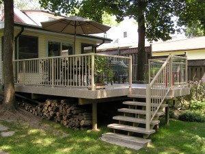 Deck and stairs1